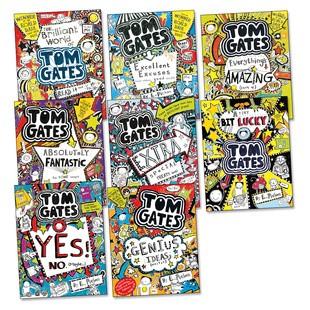 Tom Gates Collection - Liz Pichon (8 Books)