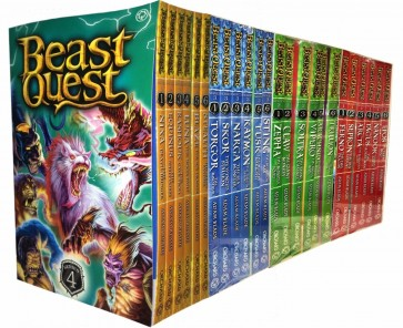 Beast Quest Series 1 to 4 | Accelerated Reader | 24 Book Set