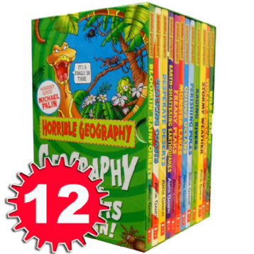 Horrible Geography Collection 12 Books - Accelerated Reader