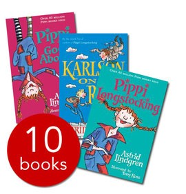 Pippi Longstocking & Friends Collection - 10 Books
