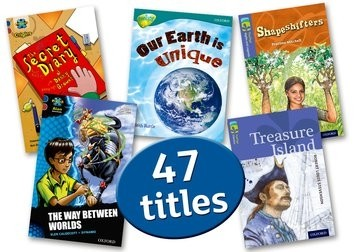 Oxford Accelerated Reader Pack 3: AR levels 3.8-6.7 Interest level 8-11 years