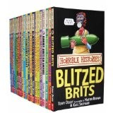 Horrible Histories Collection Blood Curdling 20 Books - Accelerated Reader