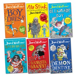 David Walliams Accelerated Reader Pack | 36 Books