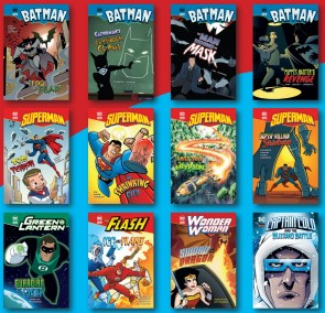DC Super Heroes - Pack of 72 Chapter Books