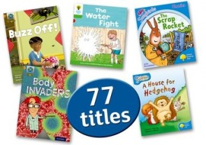 Oxford Accelerated Reader Pack 1: AR levels 0.3-2.5 Interest level 5-7 years