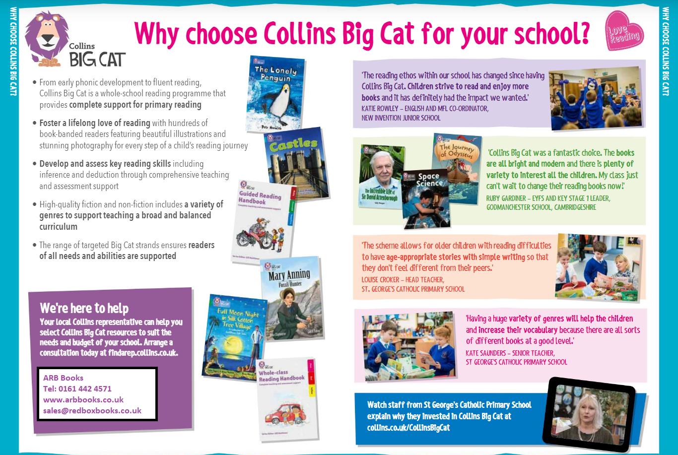 Why choose Collins Big Cat